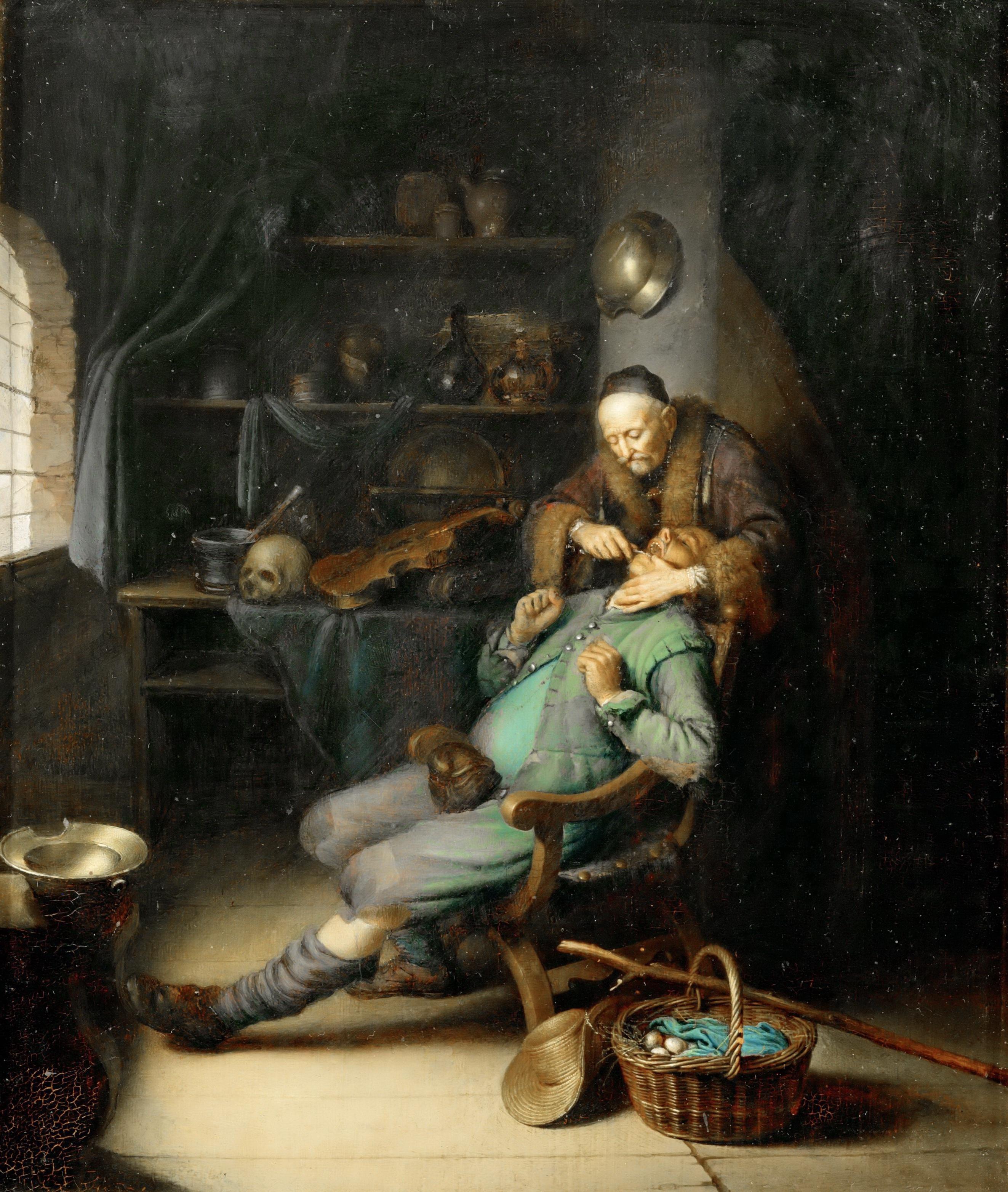 Gerrit Dou - The Dentist