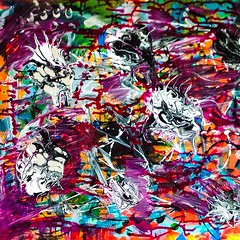 Second canvas, 3rd layer. #bloomtrue #art