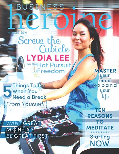 Lydia Lee Business Heroine