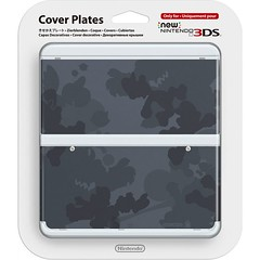 new-nintendo-3ds-cover-plates-no-045-mario-camouflage-grey-387497.1