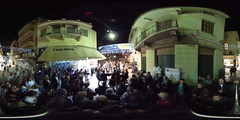 Dancing Greeks at Pandrossou Street Party in 360 degrees | #TBEX