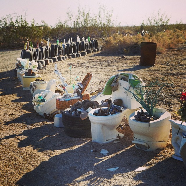 Slab City Fence