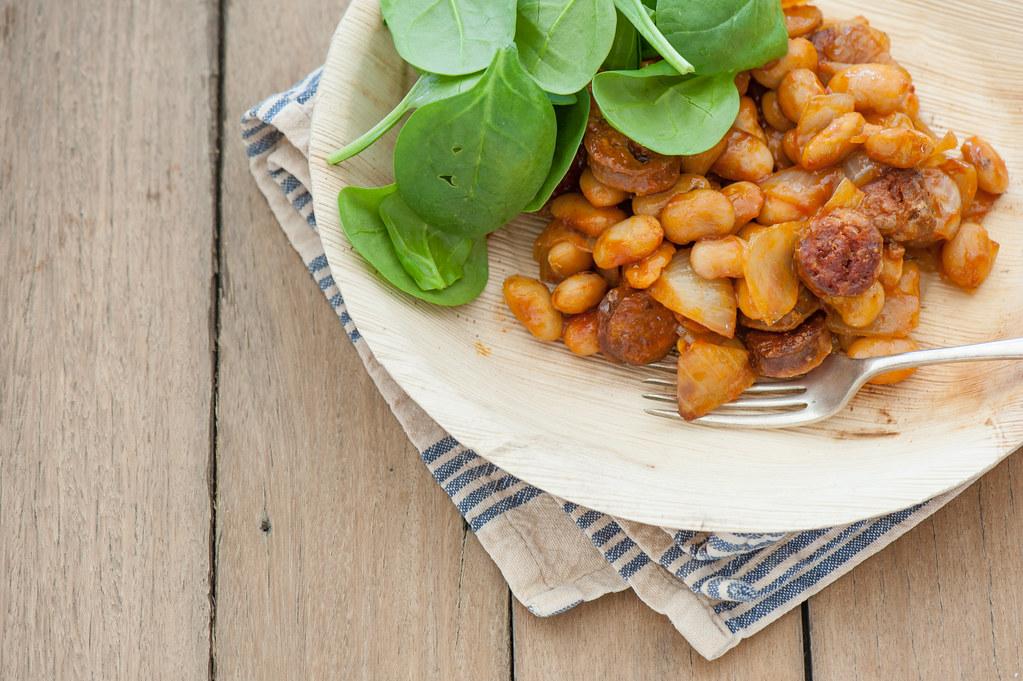 chorizo & beans