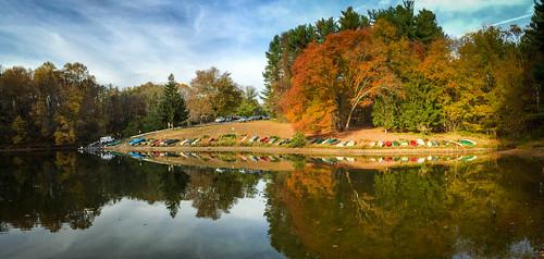 autumn liberty unitedstates maryland reservoir sykesville