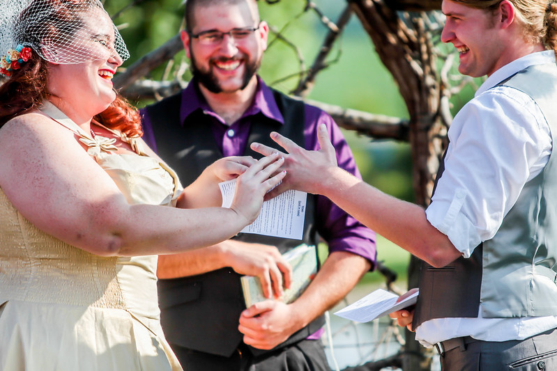 Geeky carnival wedding from @offbeatbride