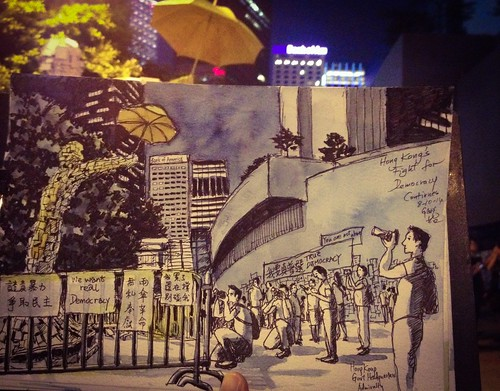 The Umbrella Man: Hong Kong's Fight for Democracy Continues