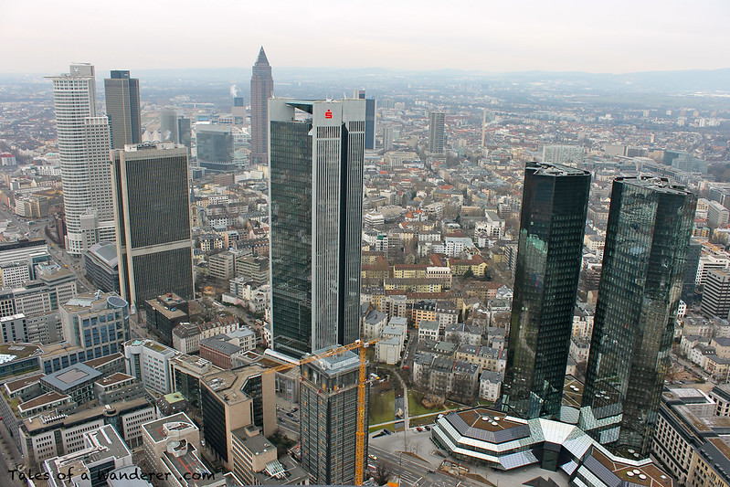 FRANKFURT AM MAIN - Main Tower - Messeturm / Deutsche Bank Twin Towers