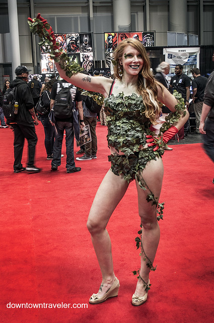 NY Comic Con 2014 Poison Ivy 4