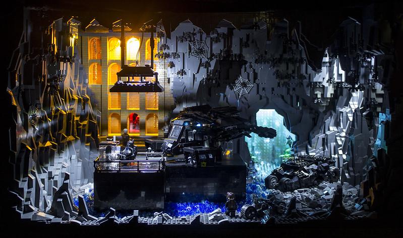 The Dark Knight Rises Batcave - LEGO Licensed - Eurobricks Forums