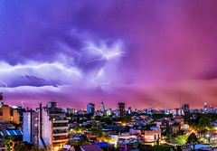 Más tormentas - More thunderstorms