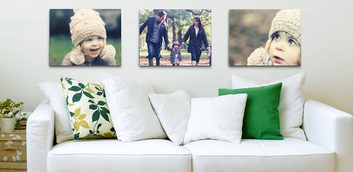 Flickr Wall Art example