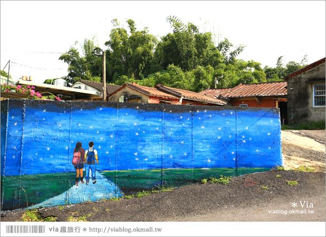 【關廟彩繪村】新光里彩繪村~在北寮老街裡散步‧遇見全台最藝術風味的彩繪村20