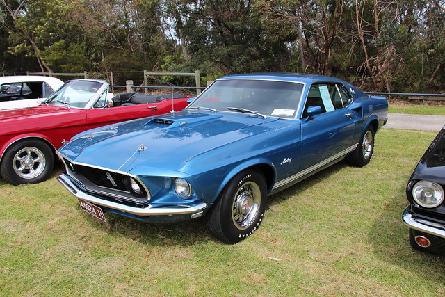 Photo:1969 Ford Mustang GT 390 Sportsroof By Sicnag