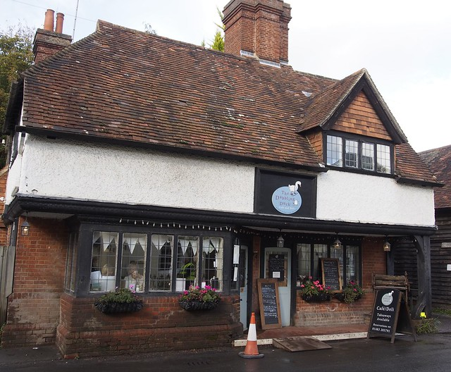 Dabbling Duck Tea Room, Shere, Surrey, England, Travel