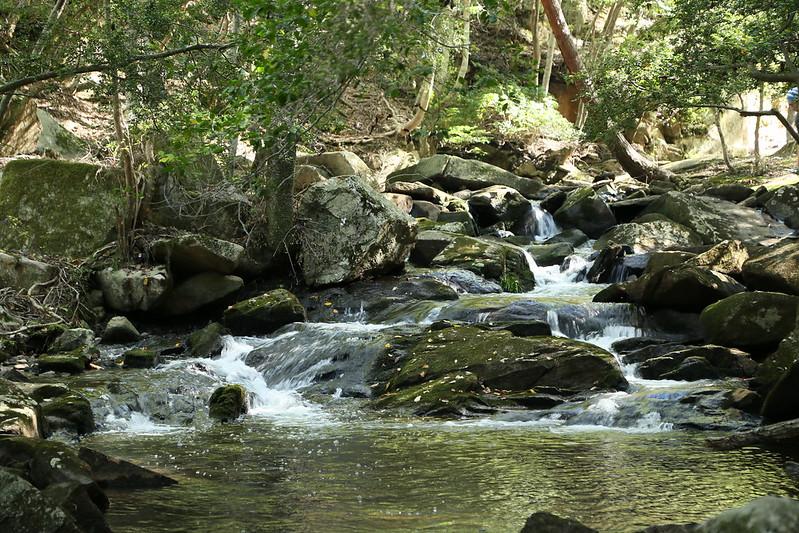 るり渓の美しい流れ
