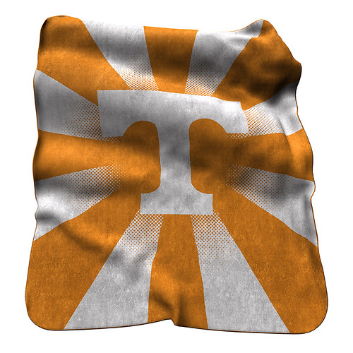 Tennessee Volunteers NCAA Raschel Blanket