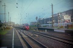 Thalys at Köln Messe - Kodak Portra 400 - Zeis Rangefinder