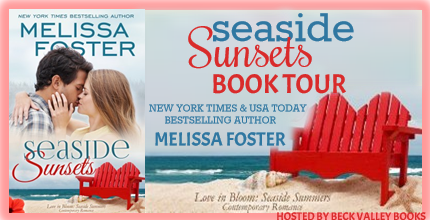 Melissa Foster's latest: Seaside Sunsets- Book Tour and Giveaway