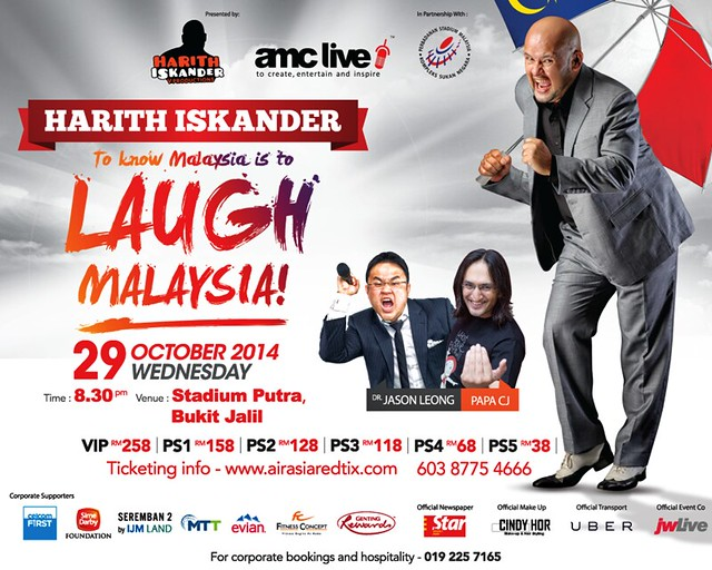 Harith Iskander To know is to LAUGH MALAYSIA