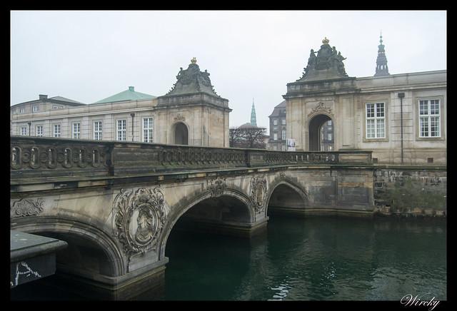 Un Puente de Mármol en Copenhague