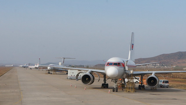 Air Koryo at Sunan International Airport in Pyongyang