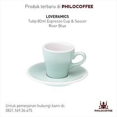 Produk Terbaru  @loveramics Tulip Espresso 80ml Cup & Saucer Warna: River Blue  Cangkir khusus espresso dari @loveramics ini diproduksi berdasarkan standard SCAA & SCAE.  Dijual per set ( 6 cangkir/cup dan 6 lepek/saucer)  Harga: Rp 1.050.000/set