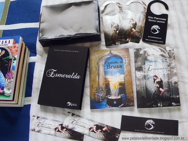 livro, sinopse, Box, Esmeralda, Cida Santos, Editora Arwen
