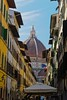 Florence streets and dome