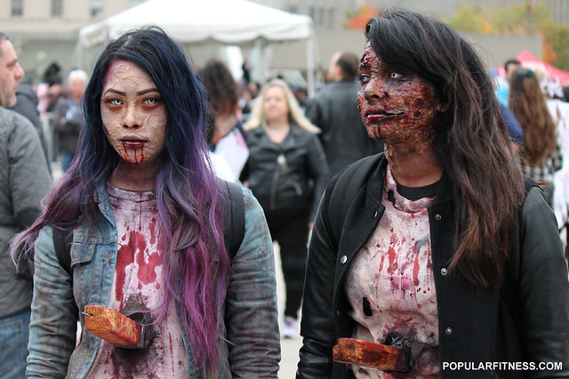 2014 Toronto Zombie Walk and Halloween Parade