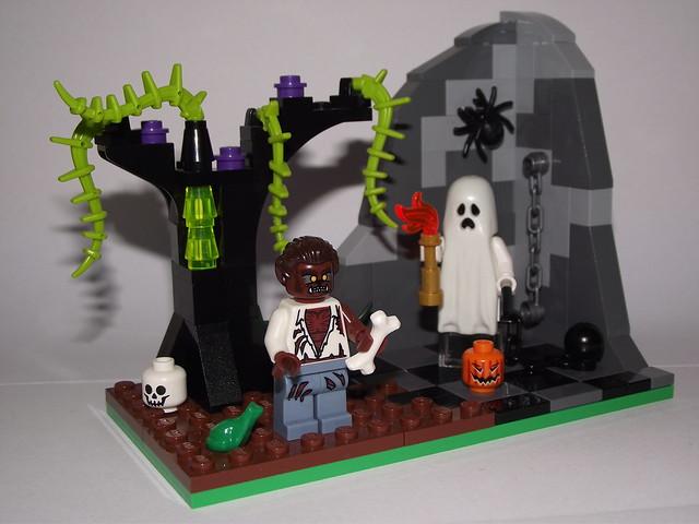 MOC] Halloween vignettes - Special LEGO Themes - Eurobricks Forums