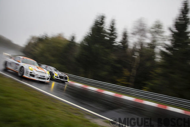 VLN. Round 10 DMV Münsterlandpokal at the Nürburgring 25 October 2014
