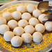 Longan cakes at Made in China\'s breakfast buffet