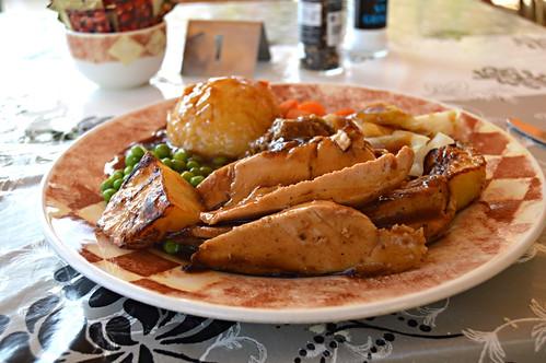 Roast dinner, Cosy Café, Playa de las Americas