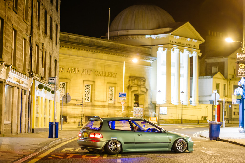 jdm honda civic streets of perth scotland
