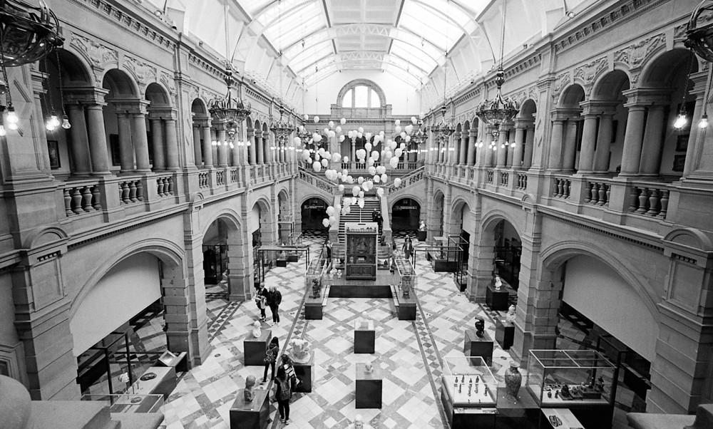 Interior Space, Art Gallary in Glasgow