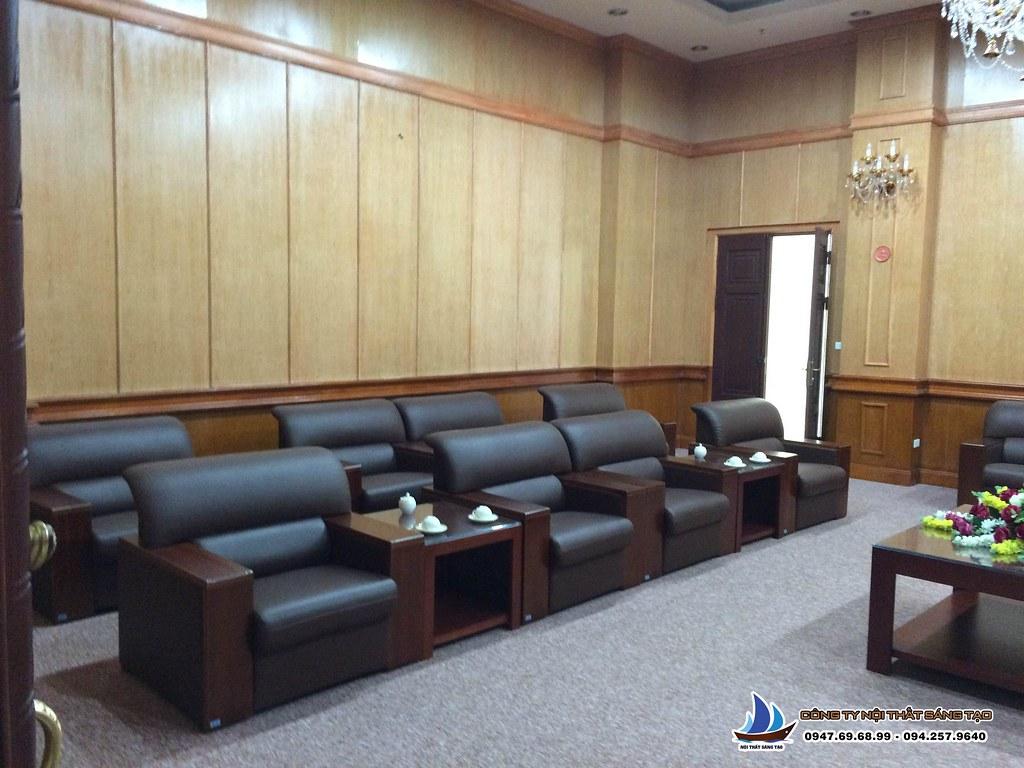 thiết kế nội thất phòng họp cao cấp