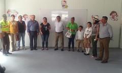 Inauguran Unidad Educativa en parroquia Chibunga