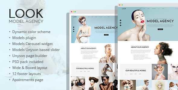 Look WordPress Theme free download