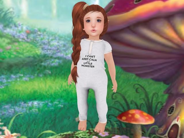 Unicorn Cupcake  Little Queen and Little Monster Pjs