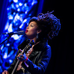 Fri, 17/03/2017 - 4:37pm - Valerie June Live at SXSW Radio Day Stage Powered by VuHaus 3.17.17 photographer: Sarah Burns