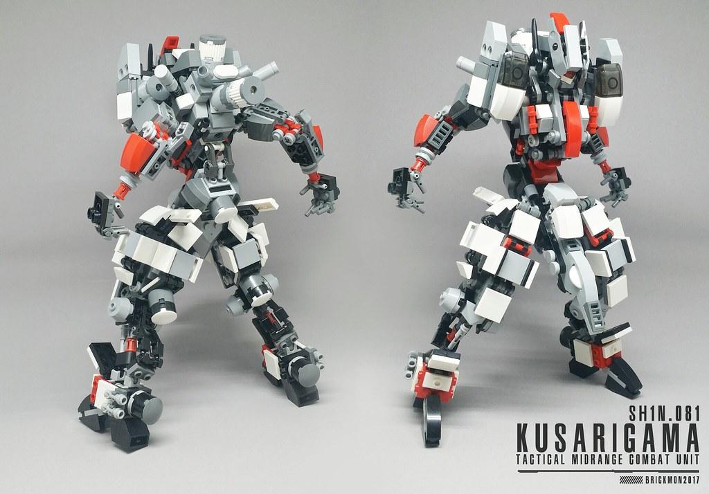 Kasurigama (custom built Lego model)