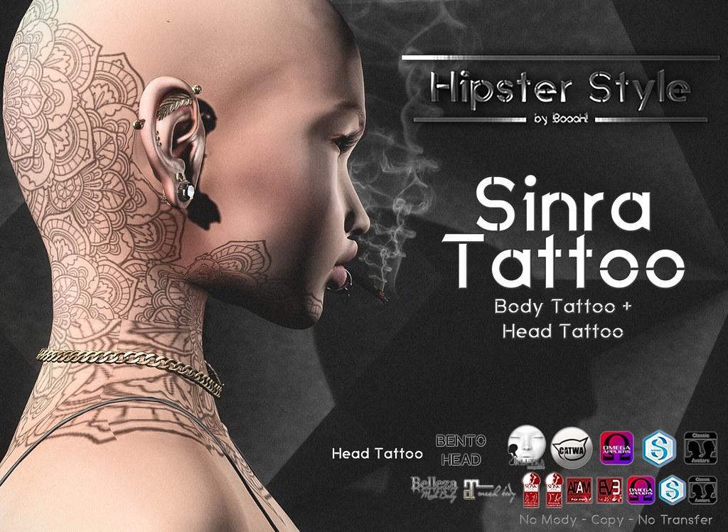 [Hipster Style] Sinra Tattoo - SecondLifeHub.com
