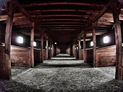 The stable at Fort Abraham Lincoln State Park. #statepark #fortlincoln #stable #ndstateparks