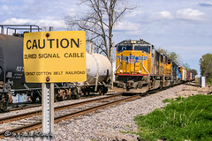 UP 4672 | EMD SD70M | UP Brinkley Subdivision