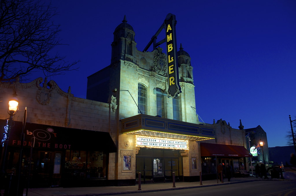 Ambler Theater - Ambler PA Retro Roadmap 2017