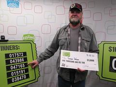 Gary Webb - $1,000 - St. Patrick's Day Raffle - Jacksons Food Stores - Nampa