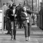 Couple on a Preston street