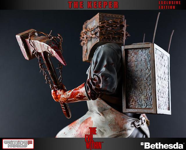 邪靈入侵招牌怪物「THE KEEPER」雕像推薦!