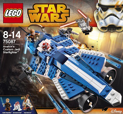 LEGO Star Wars Anakin's Custom Jedi Starfighter (75087)