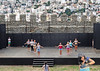 Macedonia, Kavala, amateur mature females rehearsing on castle's stage, Greece #Μacedonia by gentle wolf